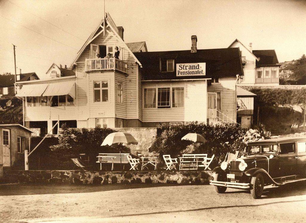 Old times Pensionat strandgården 1919